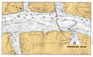 Tennessee River Map by Tennessee River
