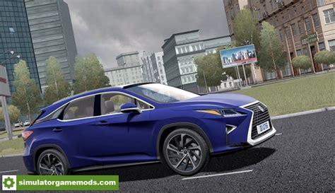 rx 350 mod city car driving 1 5 5 lexus rx350 2017 car mod