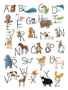 animal alphabet animales and alphabet on pinterest