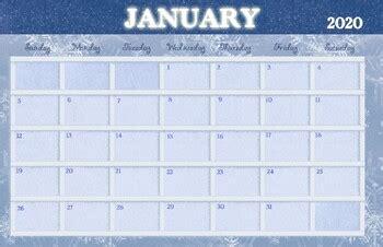 january  calendar   drawn  learn tpt