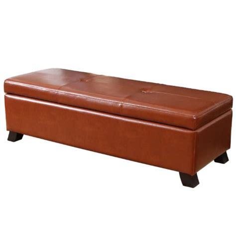 discount storage ottoman leather sofa best cambridge leather storage ottoman