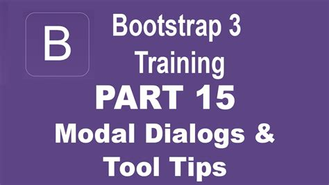 bootstrap tutorial for beginners video bootstrap tutorial for beginners part 15 plug ins