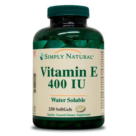vit e supplement blend vitamin e 400 iu