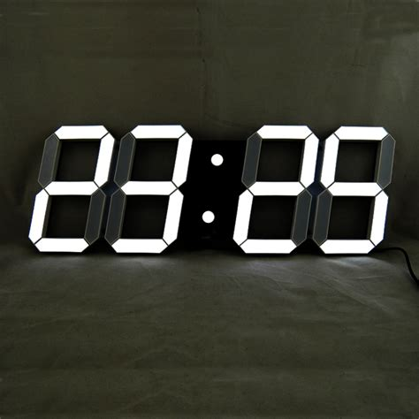 modern digital wall clock remote large led digital wall clock modern design