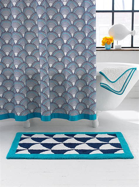 stylish shower curtain more modern shower curtain finds for a stylish powder room