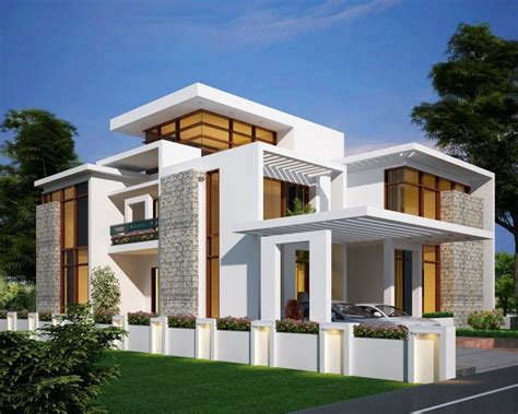 modern home ideas kerala home design at 3075 sq ft new design home design