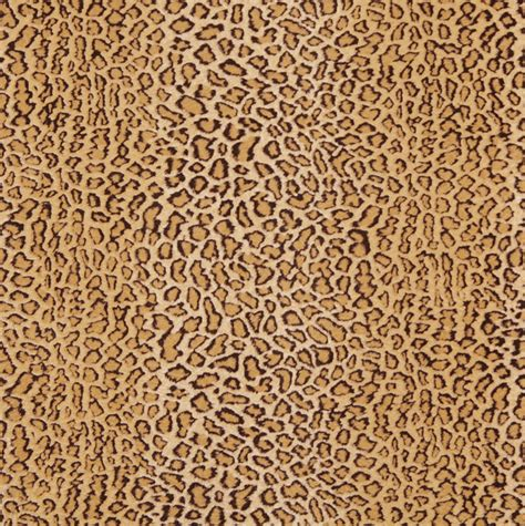 Upholstery Fabric by E411 Leopard Animal Print Microfiber Fabric