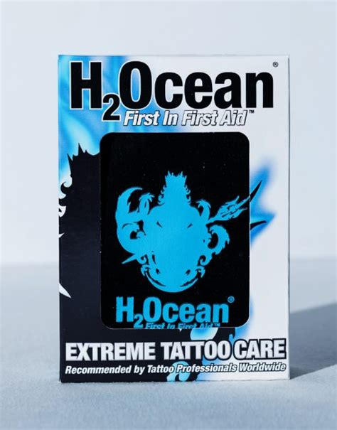 h2ocean extreme tattoo care kit extreme tattoo care etc h2ocean