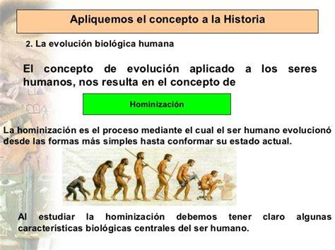 la historia y el ser humano hominizaci 243 n y evoluci 243 n cultural