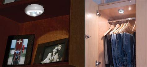 Wardrobe Lighting Solutions by 10 Affordable Wireless Closet Lighting Solutions
