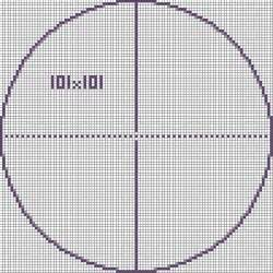circle template minecraft pixel circle chart search block