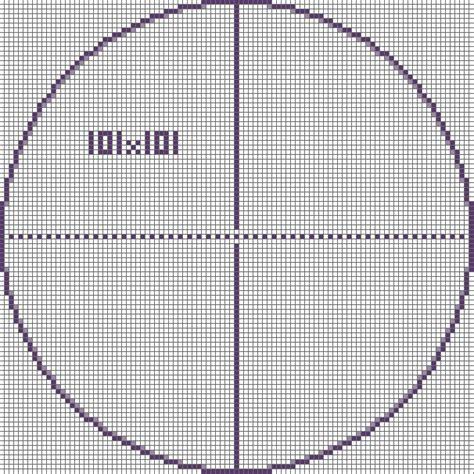minecraft circle template pixel circle chart search block