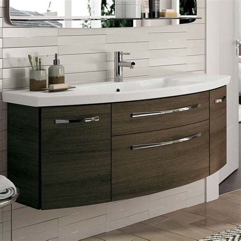 buy 6001 solitaire bathroom vanity unit 2 draw 2 door 1290