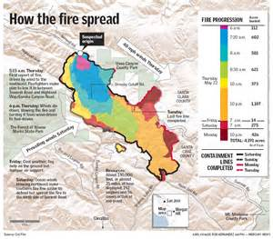 california fires map california map