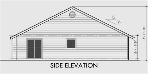 country creek duplex home plan 055d 0865 house plans and house plans with garage on both sides home desain 2018