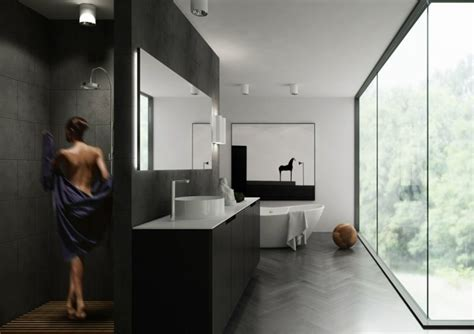 dusche ideen badezimmer gemauerte dusche als blickfang im badezimmer vor und