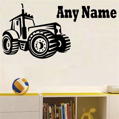 tractor wall stickers popular tractor wall stickers buy cheap tractor wall