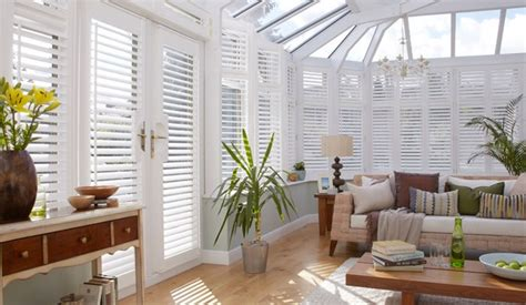 Manufactured Home Interior Doors by Conservatory Shutters Made To Measure Thomas Sanderson