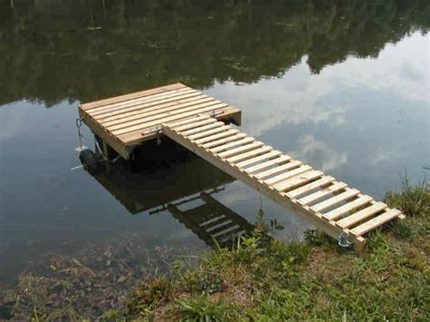 building floating boat docks planning to build a dock for the river beside your home