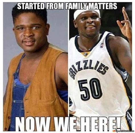 Family Matters Memes - the gallery for gt zach randolph wife