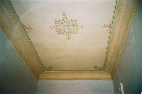 soffitto decorato walter riva formule decorative trompe d 蜩il