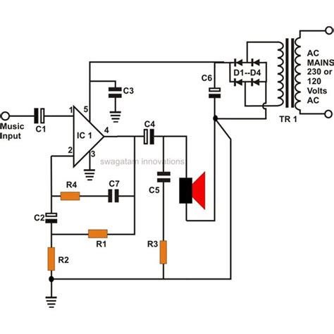 Ic Tda 2003 Ic St Audio Lifier how to build your own 10 watt power lifier using an ic tda 2003