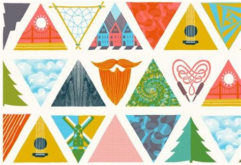triangle pattern highlights 56 best images about outside lands music festival on pinterest