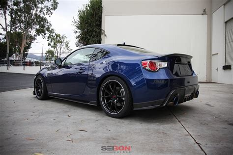2019 Scion Frs by Ta Style Carbon Fiber Side Skirts For 2013 2019 Scion Frs