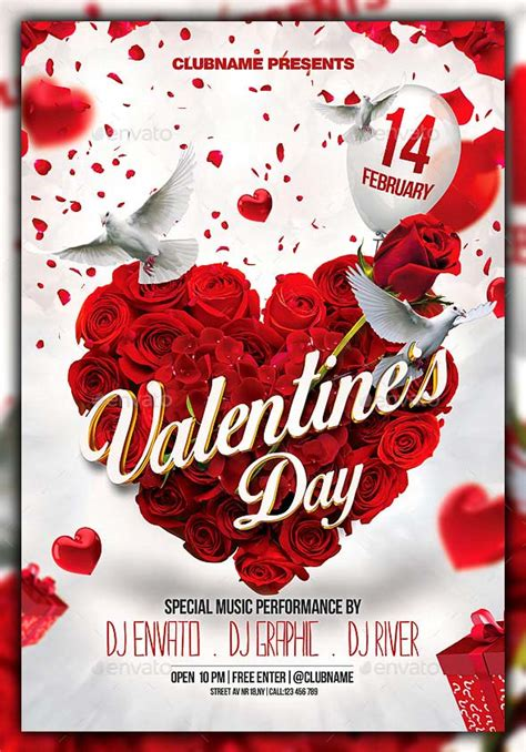 valentines day card template psd 17 best valentines day flyers cards templates 2017