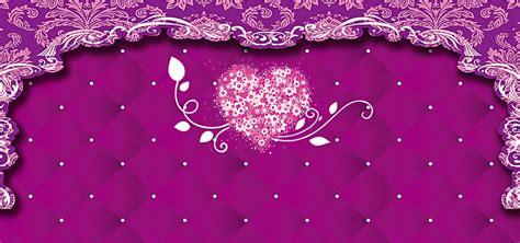 Wedding Background Border by Purple Wedding Background Flower Border Wedding