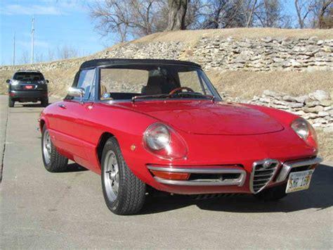 1969 Alfa Romeo Spider For Sale by 1969 Alfa Romeo Duetto Spider Veloce For Sale