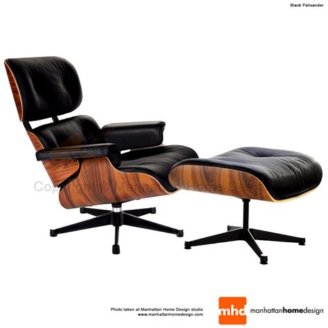 lounge chair and ottoman eames lounge chair replica black manhattan home design