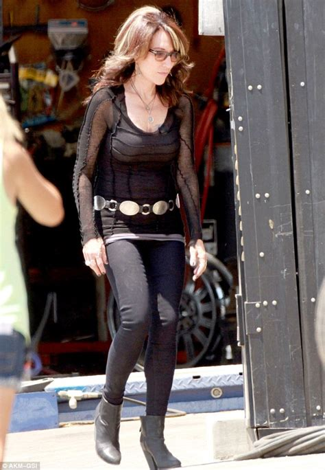 Gemma Teller Wardrobe by Hunnam Swelters On Sons Of Anarchy Set In