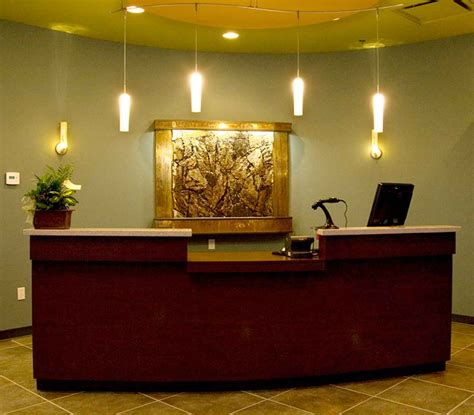 office reception desk ideas tiles for hall chiropractic office design and office