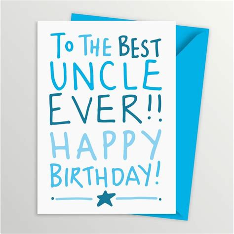 Happy Birthday Wishes For The Best To The Best Uncle Ever Happy Birthday Nicewishes Com