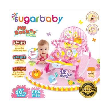 Bouncer Bayi Sugar Baby My Rocker 3 Stages Tea Time jual sugar baby bouncer my rocker stage 3 tea time color