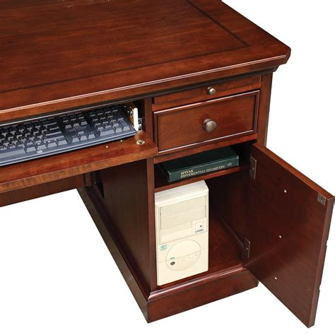 canyon cove laptop desk winners only canyon ridge 57 quot computer desk with cpu tower