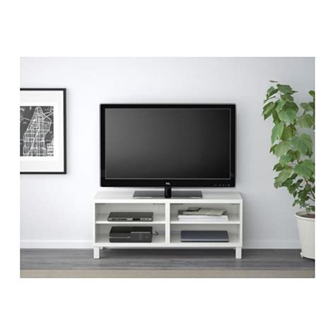 Ikea Besta Tv by Best 197 Tv Bench White 120x40x48 Cm Ikea