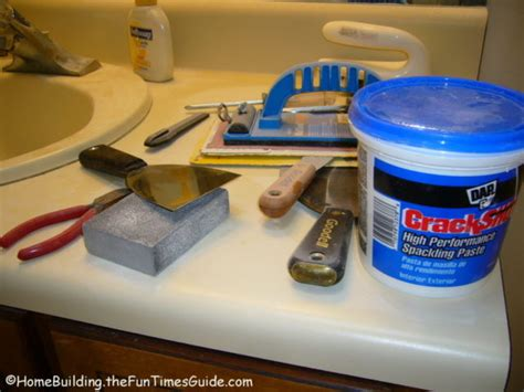 how to spackle and sand walls for a smooth finish