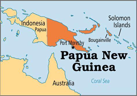 papua new guinea papua new guinea operation world