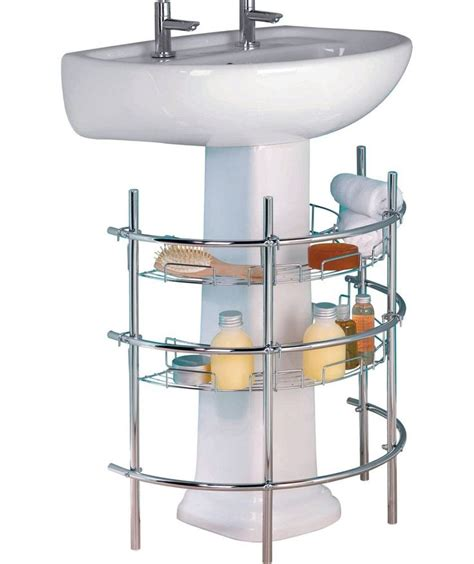 1000 ideas about sink storage unit on