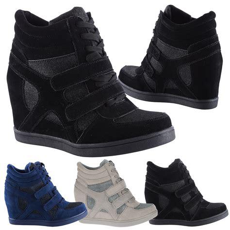 edie womens wedges heels glitter shimmer