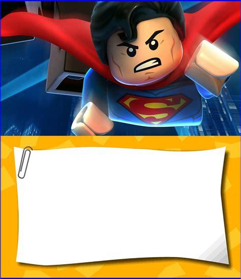 Free Printable Lego Invitation Templates Invitations Online