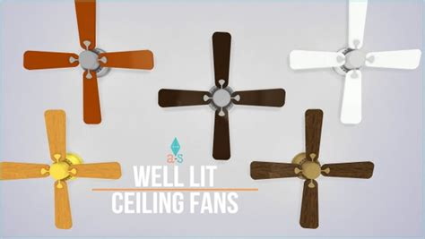 Set Ceiline Cc ajoya sims ceiling fans light sims 4 downloads check more at http sims4downloads net