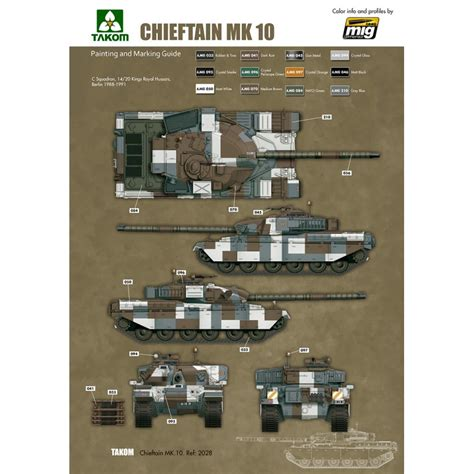 135 Battle Tank Chieftain Mk10 1 35 battle tank chieftain mk 10 ammo by