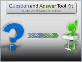 question powerpoint template question and answer toolkit template for powerpoint