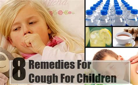 8 home remedies for cough for children