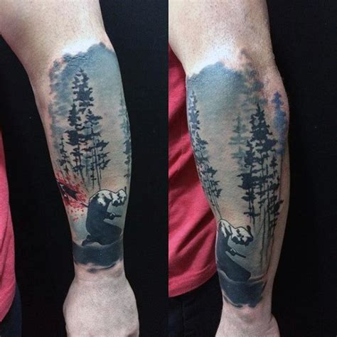 nature tattoos for men 100 forearm sleeve designs for manly ink ideas