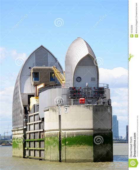 thames barrier number of times used thames barrier royalty free stock images image 10726209