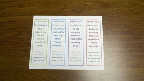 printable bookmarks design your own how to design and print your own bookmarks